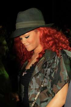 INDIO, CA - APRIL 16:  Singer Rihanna attends Day 2 of the Coachella Valley Music & Arts Festival 2011 held at the Empire Polo Club on April 16, 2011 in Indio, California.  (Photo by Christopher Polk/Getty Images) *** Local Caption *** Rihanna Photo: Christopher Polk, Getty Images / 2011 Getty Images
