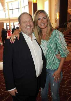 LOS ANGELES, CA - APRIL 16:  Producer and Co-Chairman of the Weinstein Company Harvey Weinstein and model/actress Heidi Klum attend the HOODWINKED TOO! HOOD vs EVIL Premiere Hosted by Heidi Klum, Maurice Kanbar and Harvey Weinstein at the Pacific Theaters at The Grove on April 16, 2011 in Los Angeles, California.  (Photo by Jason Merritt/Getty Images) *** Local Caption *** Harvey Weinstein;Heidi Klum Photo: Jason Merritt, Getty Images / 2011 Getty Images