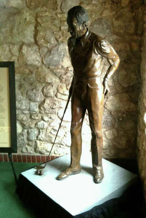 Austin Country Club and Golfsmith, Inc., donated a Harvey Penick statue to the Texas Golf Hall of Fame at Brackenridge. Photo: Texas Golf Hall Of Fame Courtesy Photo