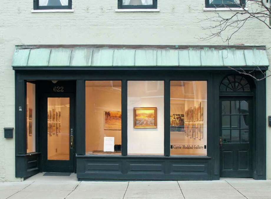 The Carrie Haddad Gallery in Hudson will be celebrating 20 years in business, often featuring the work of Capital Region artists. (Amy Griffin / Special to the Times Union) Photo: DANNY GOODWIN 2009
