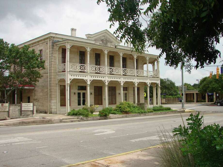 Photo of Boerne Public Library.  Dienger Building in Boerne . Courtesy photo.