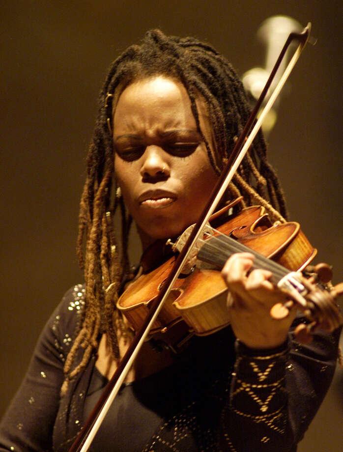 Jazz violinist Regina Carter performs Saturday at Carver Community Cultural Center. COURTESY RAHAV SEGEV