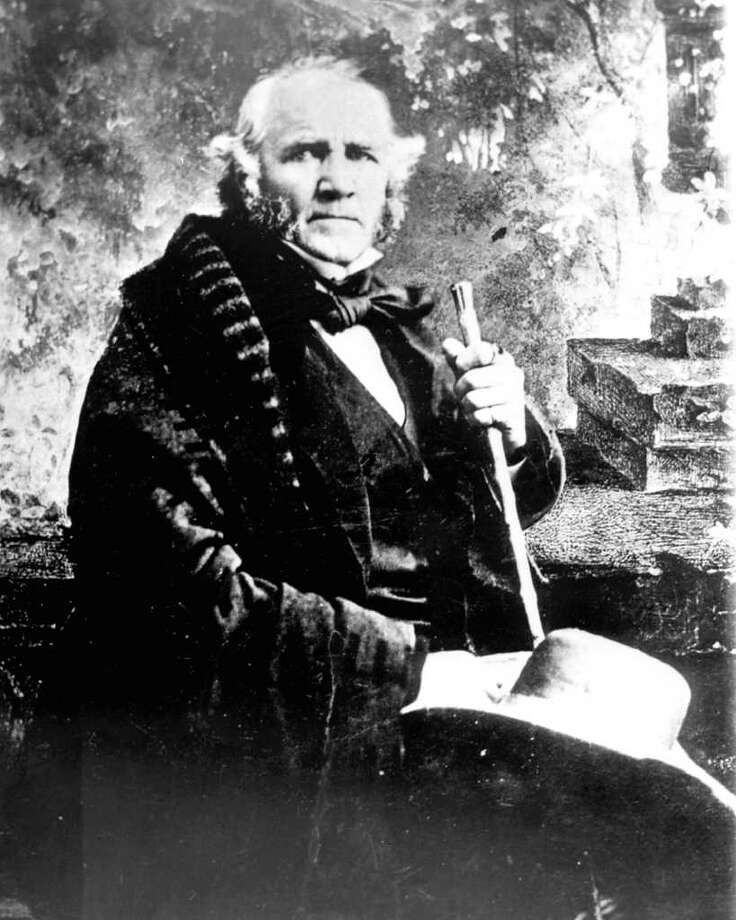 Gen. Sam Houston's (1793-1863) defeat of Mexico's army in Texas in 1836 led to eventual statehood. Photo: San Antonio Conservation Society