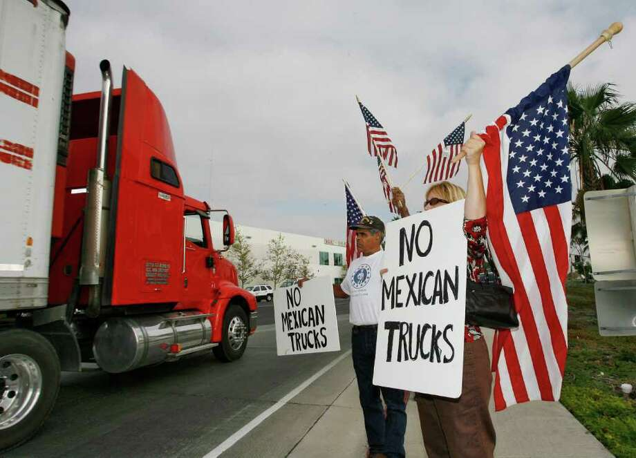 Failure to implement NAFTA's provisions about cross-border trucking has cost the U.S. jobs and money as Mexico has retaliated with tariffs. Photo: Associated Press File Photo / AP