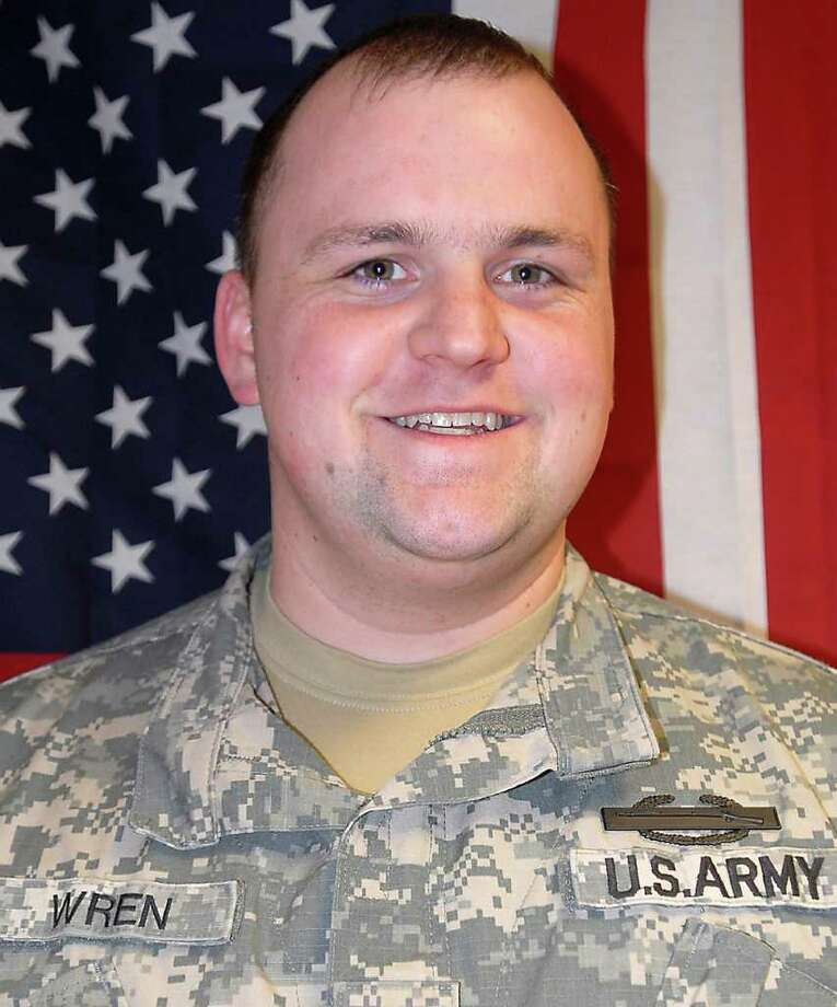Spc. Charles J. Wren, 25, died Saturday, April 16, 2011, after being hit by the blast of an improvised explosive device in Nimroz province. Photo: Courtesy Photo