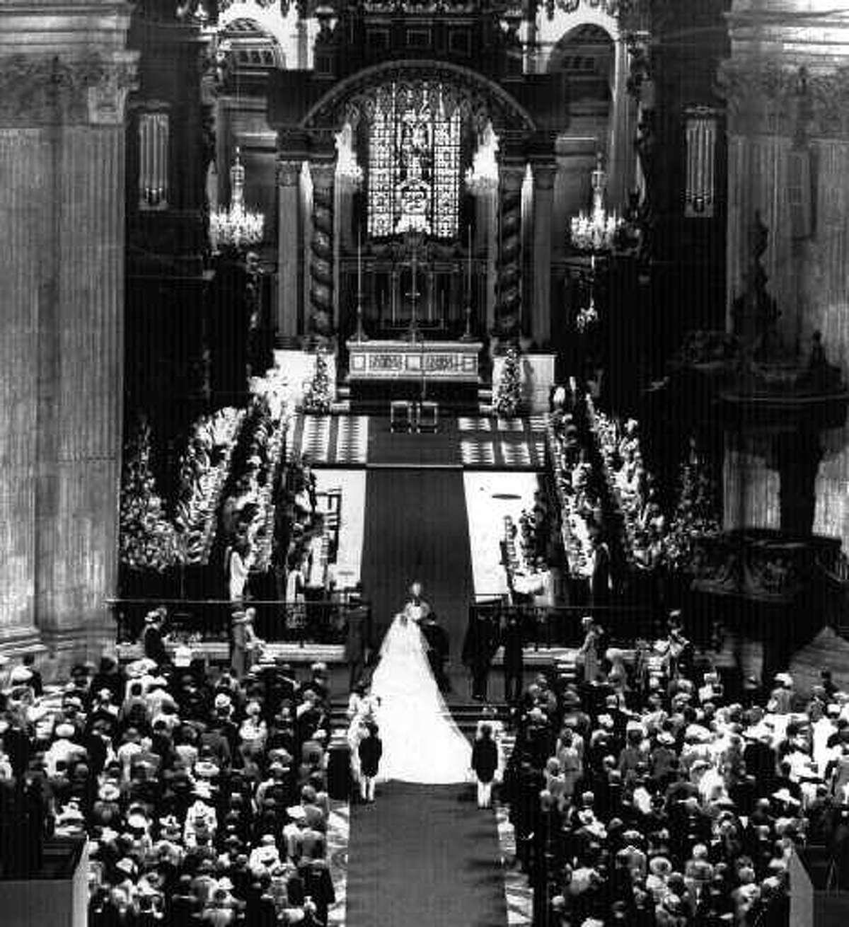 PRINCE CHARLES--England--on day of his wedding to princess Diana 7/29/81 --2-- loucks