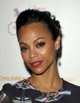 SANTA MONICA, CA - APRIL 20:  Actress Zoe Saldana arrives at an Evening of Cocktails and Shopping to Benefit the Children's Defense Fund hosted by Coach at Bad Robot on April 20, 2011 in Santa Monica, California.  (Photo by John Shearer/Getty Images for Coach) *** Local Caption *** Zoe Saldana; Photo: John Shearer / 2011 Getty Images