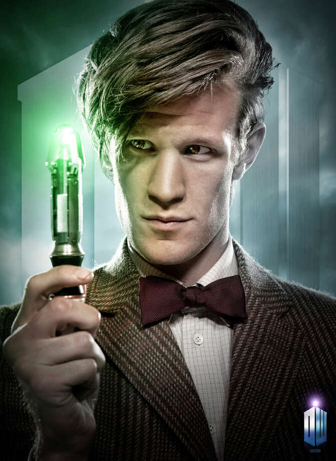 The Doctor (Matt Smith) with his sonic screwdriver. BBC AMERICA