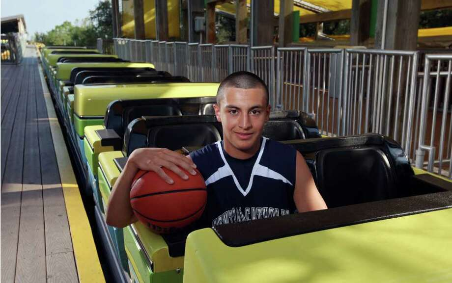 Cole Martinez of Central Catholic was named to the Express-News all-area super-team in basketball for the winter of 2011. Photo: EDWARD A. ORNELAS, SAN ANTONIO EXPRESS-NEWS / SAN ANTONIO EXPRESS-NEWS (NFS)