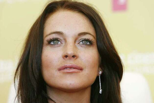 U.S. actress Lindsay Lohan looks on after a press conference to present her film 'Bobby',  by U.S. director Emilio Estevez, at the 63rd edition of the Venice film festival in Venice, Italy, Tuesday, Sept. 5, 2006. Photo: LUCA BRUNO, AP / AP