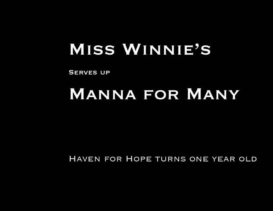 Miss Winnie's Photo: Express-News
