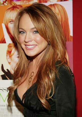 "NEW YORK - FEBRUARY 17:  (U.S. TABS AND HOLLYWOOD REPORTER OUT) Actress Lindsay Lohan attends the ""Confessions Of A Teenage Drama Queen"" premiere at the Loews E-Walk Theater February 17, 2004 in New York City. Photo: Evan Agostini, Getty Images / 2004 Getty Images"