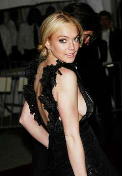 NEW YORK - MAY 7:  Actress Lindsay Lohan leaves The Metropolitan Museum of Art's Costume Institute Gala May 7, 2007 in New York City.  (Photo by Evan Agostini/Getty Images) *** Local Caption *** Lindsay Lohan Photo: Evan Agostini, Getty Images / 2007 Getty Images