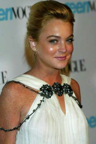 HOLLYWOOD - SEPTEMBER 20:  Actress Lindsay Lohan arrives to the Teen Vogue Young Hollywood Issue Party, at The Hollywood Roosevelt Hotel on September 20, 2005 in  Hollywood, California.  (Photo by Matthew Simmons/Getty Images) *** Local Caption *** Lindsay Lohan Photo: Matthew Simmons, Getty Images / 2005 Getty Images
