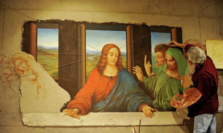 "Re-interpreting Da Vinci's ""The Last Supper"" - Times Union Da Vinci Paintings Secrets"