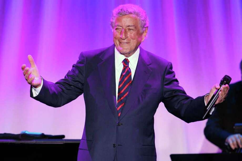 NEW YORK - SEPTEMBER 23:  Singer Tony Bennett performs onstage at the Exploring The Arts gala at Cipriani on Wall Street on September 23, 2008 in New York City.  (Photo by Bryan Bedder/Getty Images) Photo: Bryan Bedder, Staff / Getty Images North America
