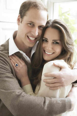 The engagement of Britain's Prince William and Kate Middleton was announced on November 16, 2010.