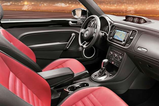 For the first time, the VW Beetle will have the option of an in-dash navigation system. Photo: Courtesy