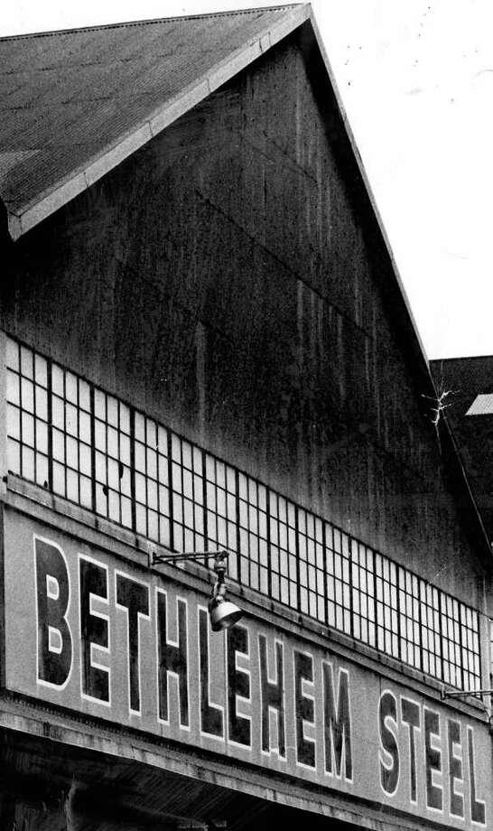 Bethlehem Steel Co. Photo by Howard Staples, August 24, 1975. Photo: Seattlepi.com File