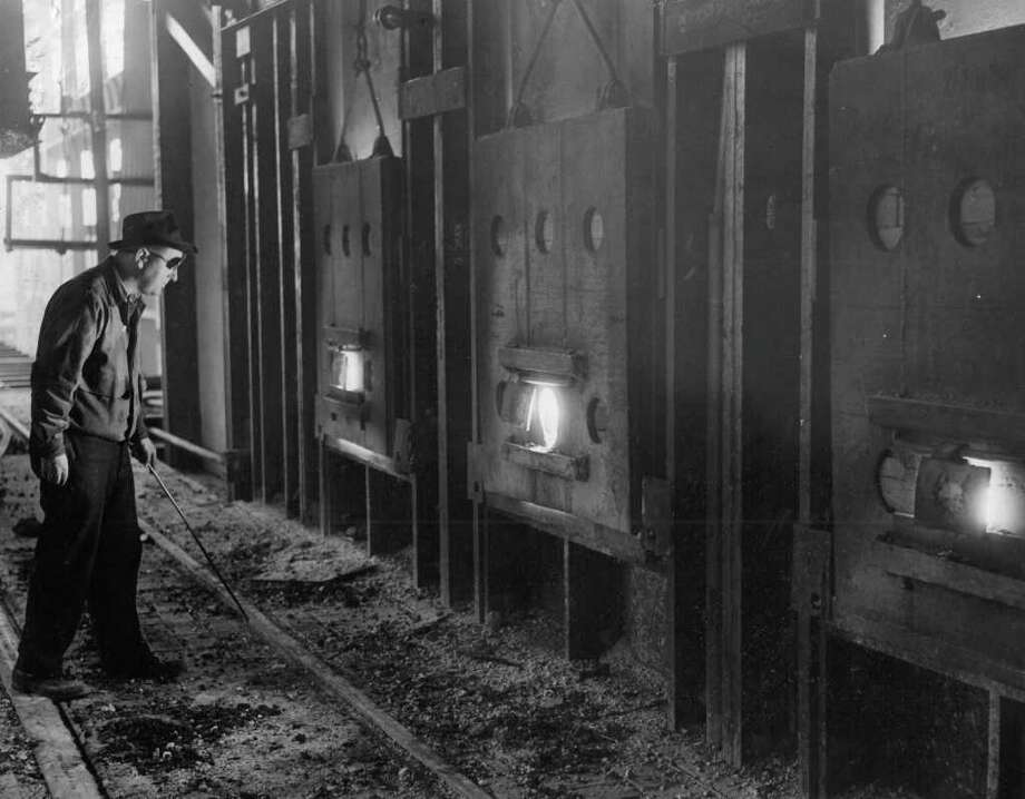 Bethlehem Steel Co., Oct. 4, 1942. Photo: Seattlepi.com File