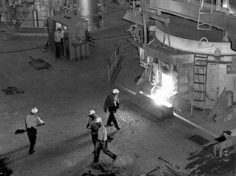 Bethlehem Steel Co,. May 8, 1959. Photo: Seattlepi.com File