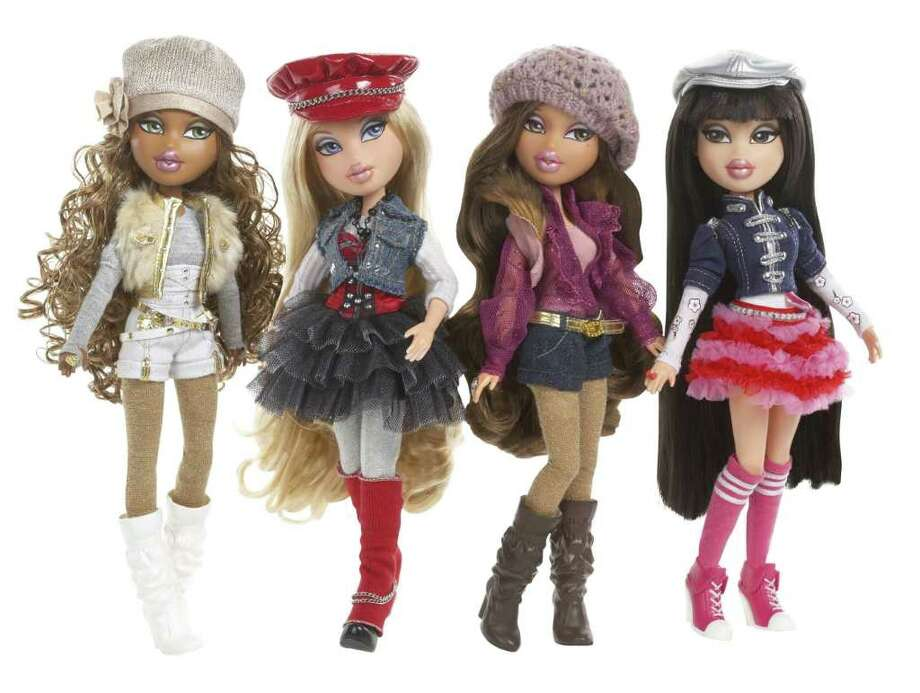 FILE - This file product image provided by MGA Entertainment shows part of the 2010 collection of Bratz dolls. A California jury is preparing to read its verdict in the copyright infringement and trade secrets case pitting Mattel Inc. against MGA Entertainment Inc. over ownership of the popular Bratz doll line. (AP Photo/MGM Entertainment)