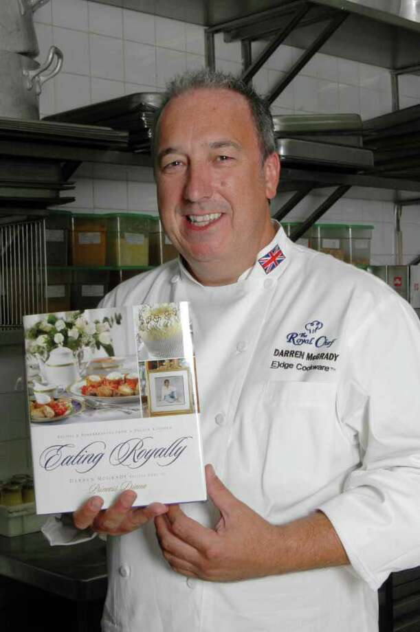 Darren McGrady was chef for Princess Diana and her sons. Photo: Courtesy Photo