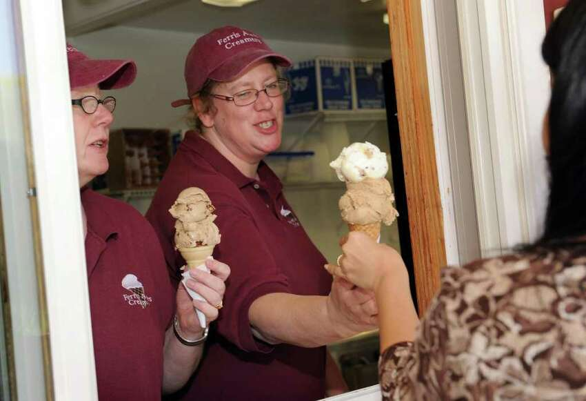 Ferris Acres Creamery on Route 302 in Newtown, opened for the season Tuesday, April 27, 2011.