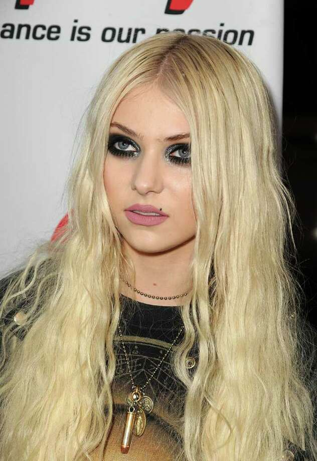 Musician/actress Taylor Momsen arrives at the 3rd Annual Revolver Golden God Awards at the Club Nokia in Los Angeles, California.  Photo: Getty Images