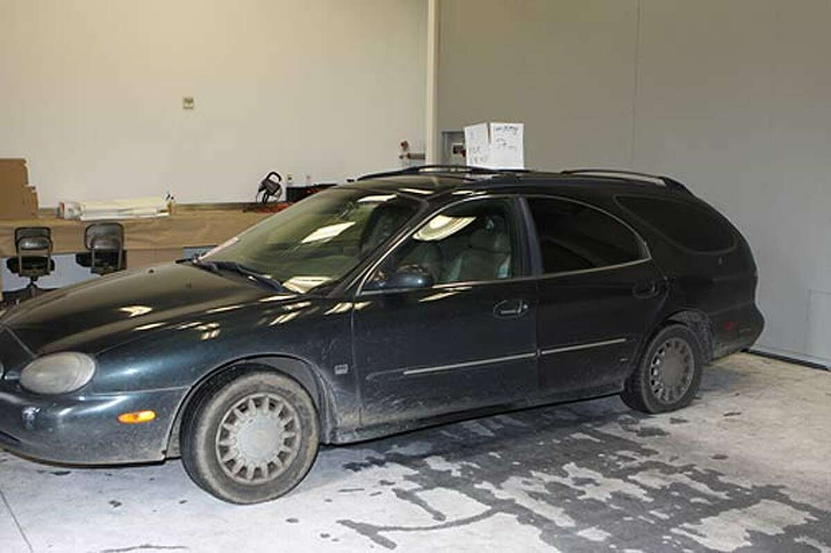 The 1998 Mercury Sable station wagon owned by John Hauff, Jr., a 66-year-old man charged with kidnapping, raping and torturing a 24-year-old Seattle woman. (Seattle police photo)
