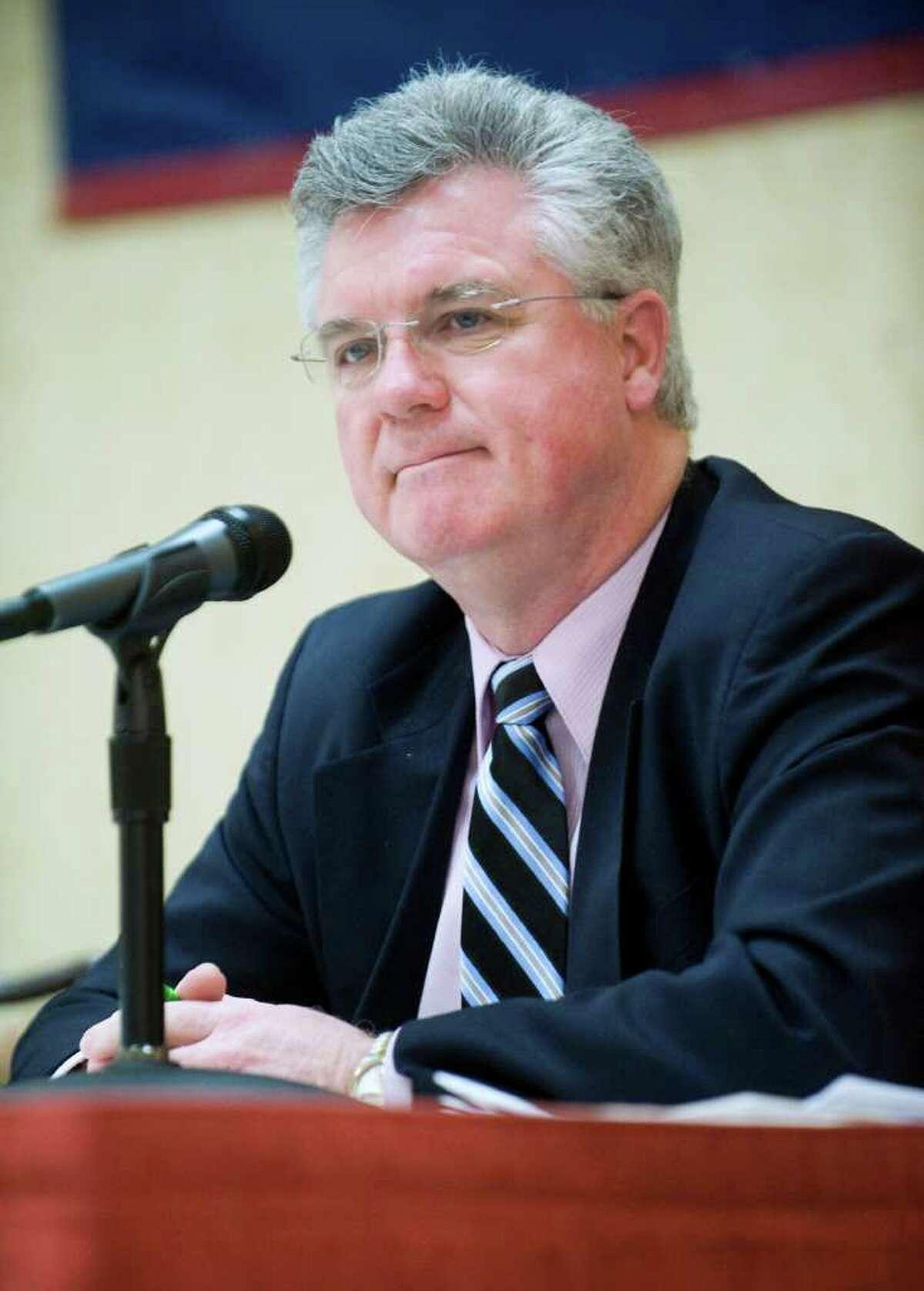 House Speaker Christopher Donovan, D-Meriden, at the 2011 Connecticut Legislative Leadership Breakfast in Stamford on Thursday March 24, 2011.