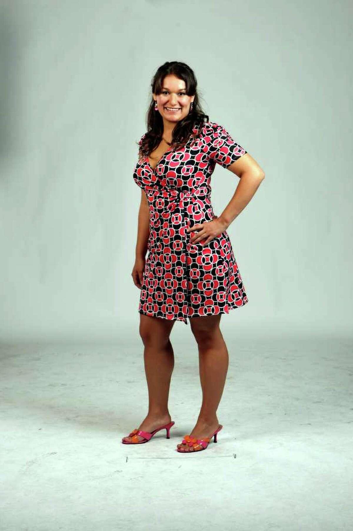 CONEXION: Karin Wedholm, 2011 Top 10 Hottest Latina contestants. Photographed Sunday April 10, 2011 HELEN L. MONTOYA/hmontoya@express-news.net
