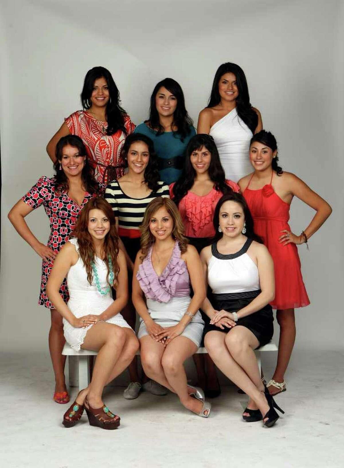 CONEXION: 2011 Top 10 Hottest Latina contestants. Photographed Sunday April 10, 2011 HELEN L. MONTOYA/hmontoya@express-news.net