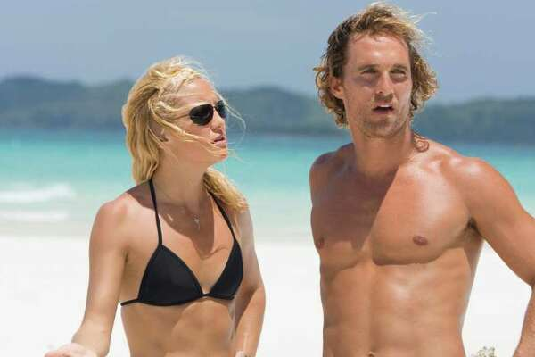 """KATE HUDSON stars as Tess Finnegan and MATTHEW McCONAUGHEY stars as Ben """"Finn"""" Finnegan in Warner Bros. Pictures' romantic comedy adventure """"Fool's Gold."""" PHOTOGRAPHS TO BE USED SOLELY FOR ADVERTISING, PROMOTION, PUBLICITY OR REVIEWS OF THIS SPECIFIC MOTION PICTURE AND TO REMAIN THE PROPERTY OF THE STUDIO. NOT FOR SALE OR REDISTRIBUTION."""
