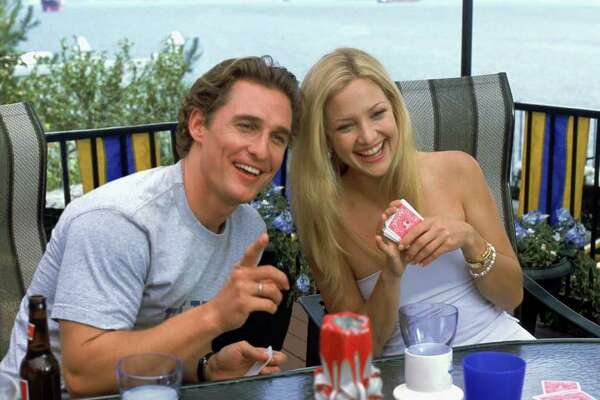 "(Left to right) Matthew McConaughey as Benjamin Barry and Kate Hudson as Andie Anderson in Paramount Pictures' ""How to Lose a Guy in 10 Days."""