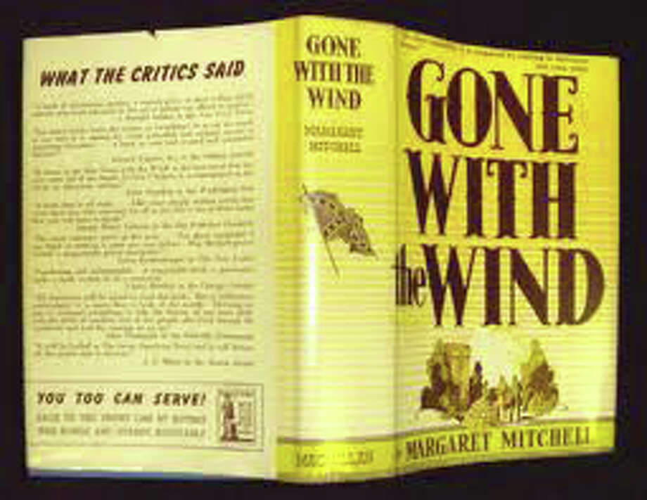 """The Pequot Library is displaying pages from the last four chapters of the final typescript of the novel, """"Gone With the Wind,"""" by Margaret Mitchell. Photo: Contributed Photo / Fairfield Citizen"""