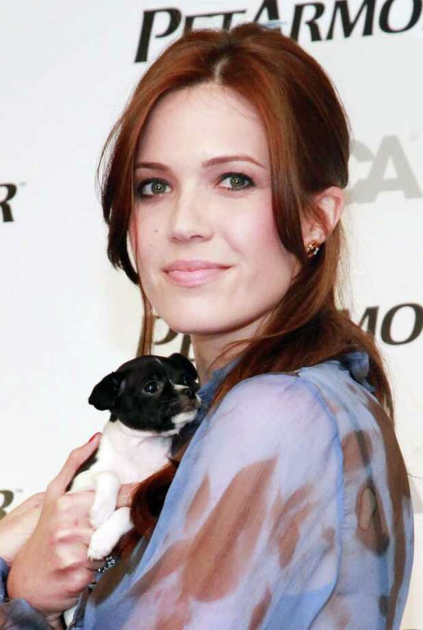 Mandy Moore attends the animal healthcare awareness program launch at ASPCA Headquarters in New York City. Photo: Getty Images