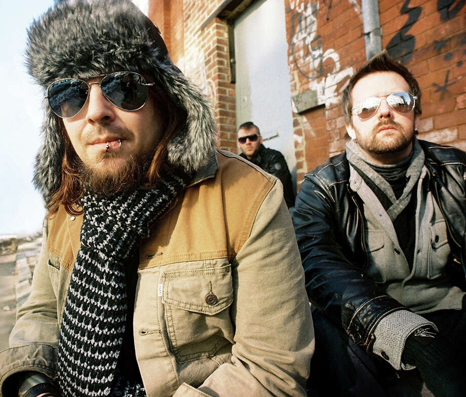 South African rock band Seether features Shaun Morgan (from left), Dale Stewart and John Humphrey. COURTESY CLAY PATRICK MCBRIDE