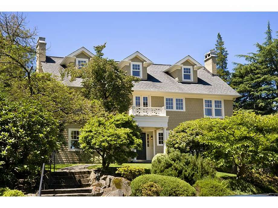 Suppose you have around $2.5 million to spend on a house in one of those fancy Seattle neighborhoods at the west end of the 520 bridge? Well, even if you don't, they are fun to look at. Here's a 1946 Colonial at 153 Madrona Place E., listed for $2.75 million. Photo: Windermere Real Estate