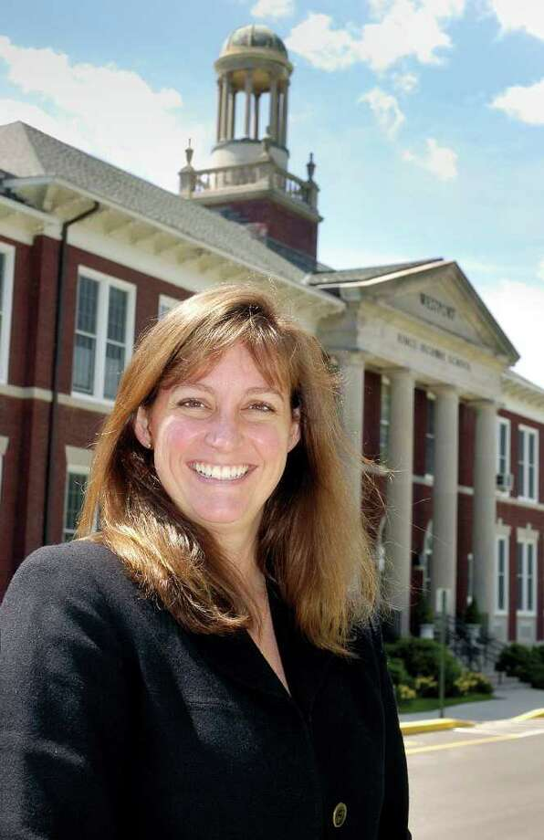 Paula Bleakley, the principal of Parkway School since 2005, is leaving the school at the end of June to take a position as principal of Holmes Elementary School in Darien, according to a statement from Greenwich Public Schools. Photo: File Photo / Greenwich Time File Photo