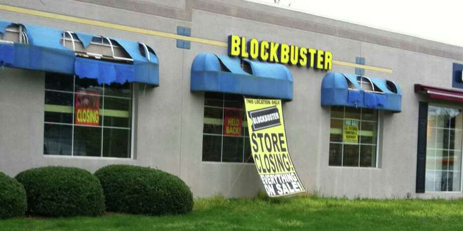Blockbuster, 1505 Post Road E., is slated to close this Sunday. Photo: Staff Writer/ Michael C. Juliano