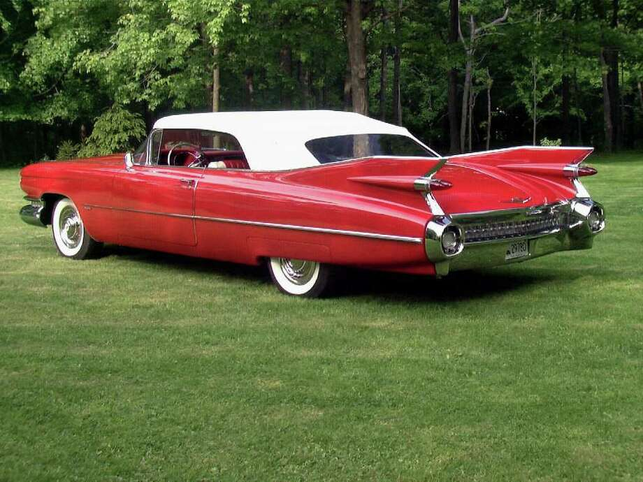 A 1959 Cadillac Series 62 Convertible, owned by George and Toni Huse of Danbury, will be on display at the 8th Annual Model Ts to Mustangs Antique and Classic Car Show at the Stamford Museum & Nature Center on Saturday, May 7, 11 a.m.-3 p.m. Photo: Contributed Photo / Connecticut Post Contributed