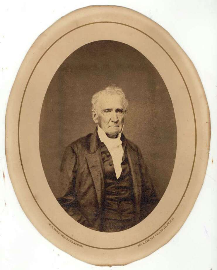 Dr. Darius Mead, who founded Greenwich Academy in 1826. Photo: Contributed Photo / Greenwich Time Contributed