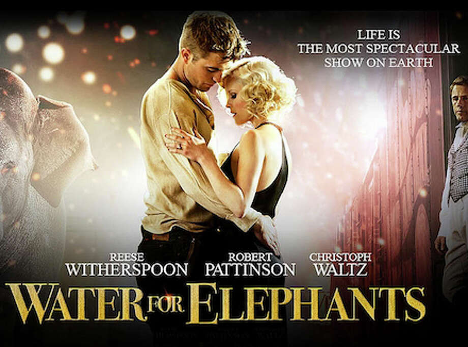 "The movie, ""Water for Elephants,"" based on the popular novel of the same name, has just been released. Photo: Contributed Photo / Westport News contributed"