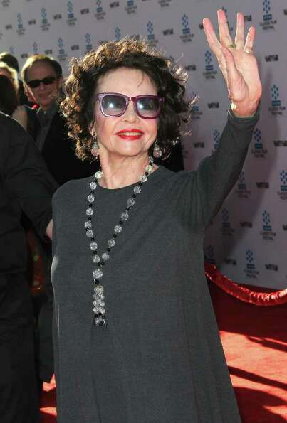 Actress Leslie Caron attends the TCM Classic Film Festival Opening Night Gala and World Premiere of