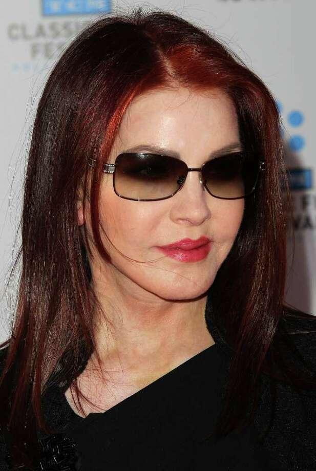 "Actress Priscilla Presley attends the TCM Classic Film Festival Opening Night Gala and World Premiere of the film ""An American In Paris"" at Grauman's Chinese Theatre in Hollywood, California.  Photo: Getty Images"