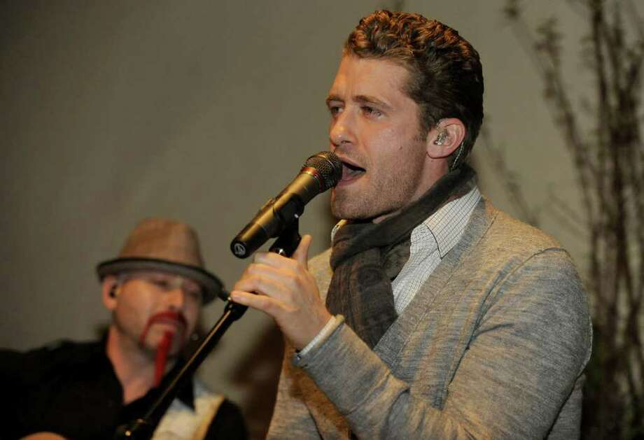 NAPA, CA - APRIL 8: Matthew Morrison performs at Robert Mondavi Winery as part of Aloft Hotels Presents Live in the Vineyard on April 8, 2011 in Napa, California. (Photo by Tim Mosenfelder/Getty Images For Live In The Vineyard LLC) *** Local Caption *** Matthew Morrison Photo: Tim Mosenfelder, Getty Images / 2011 Getty Images