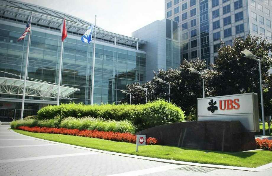 The U.S. headquarters of UBS in Stamford, above. A memo leaked to Hearst Connecticut Media Group indicates UBS, which has denied rumors of a move out of  Stamford, is planning unspecified personnel relocations this summer. Photo: File Photo / Stamford Advocate File Photo