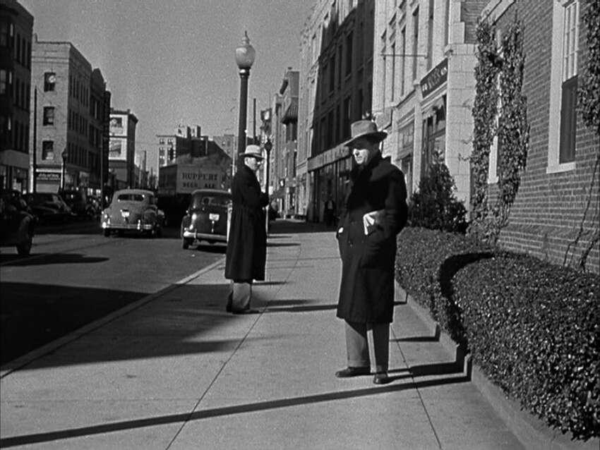 'Boomerang' (1947) Oscar-nominated for:Best writing, screenplayThe 1947 Elia Kazan movie was filmed in Stamford.More on 'Boomerang'