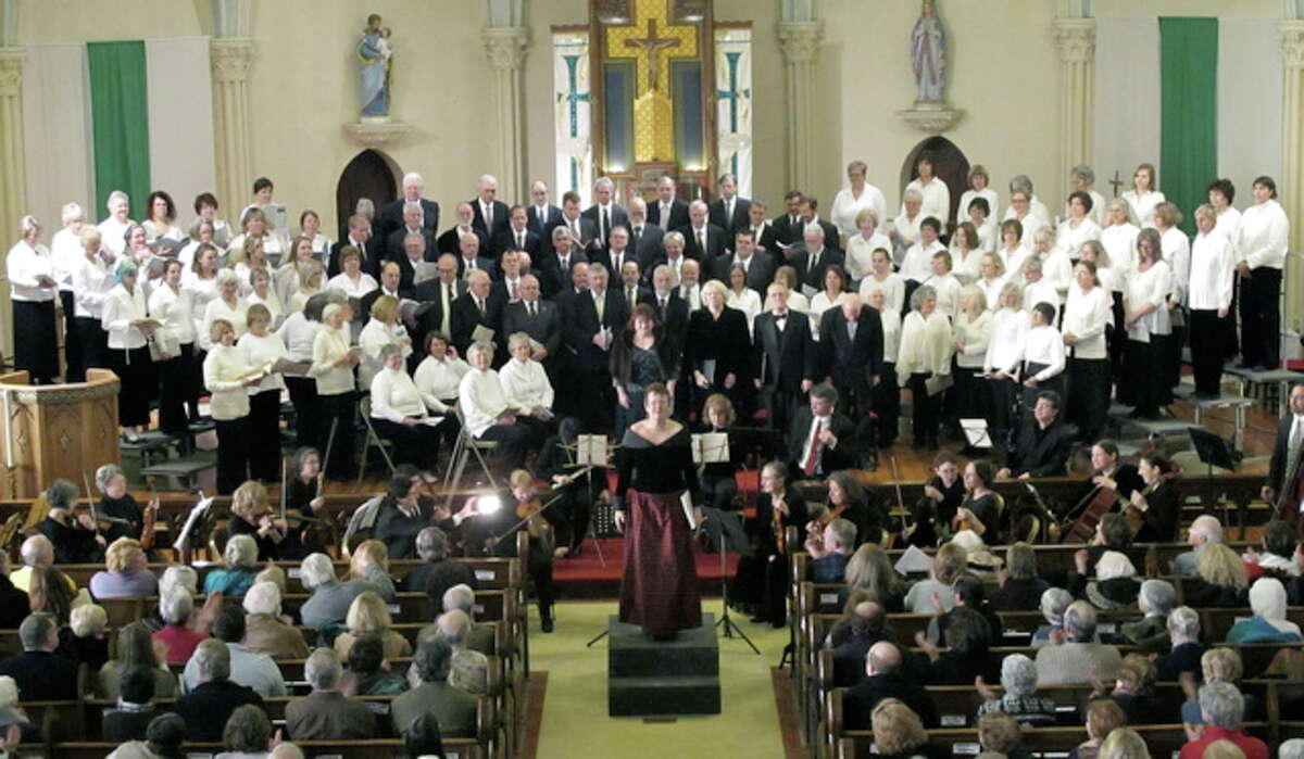 Battenkill Chorale at Jan. 30, 2011, performance of the Haydn Lord Nelson Mass. (Photo by John Oakley)